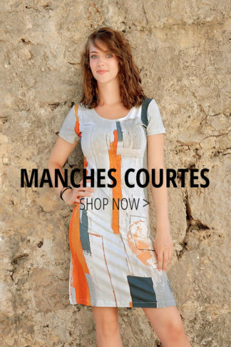 ROBES MANCHES COURTES