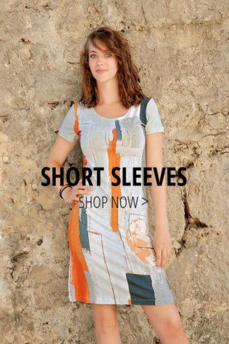 SHORT SLEEVED DRESSES